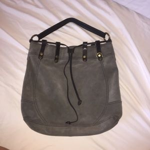 Lucky Brand Suede Leather Bag